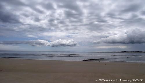 At Sandy Point ~ c. Pamela J. Leavey
