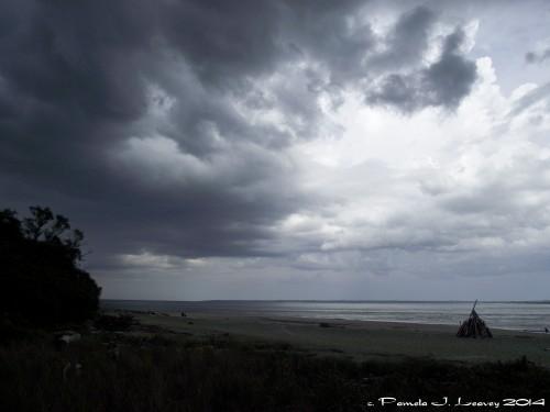 storm sandy point