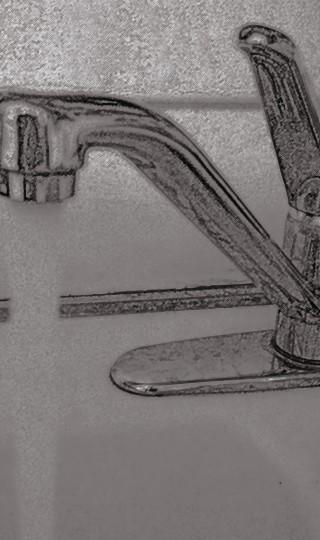 hot running tap