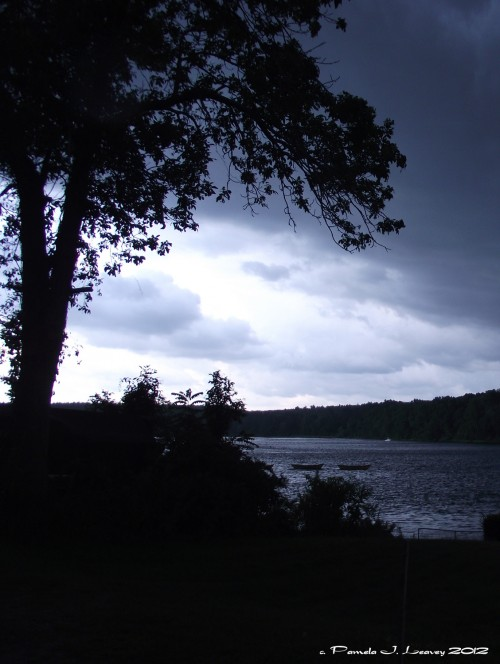 Storm over the Merrimack River ~ c. Pamela J. Leavey
