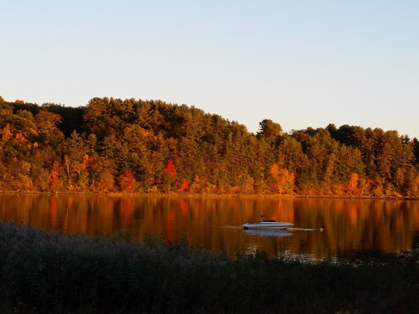 fall on merrimack river