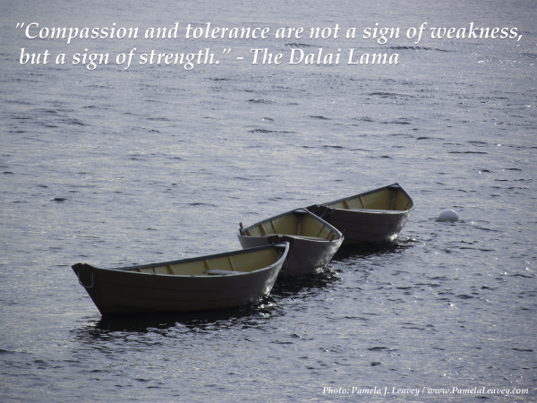 dalai lama-compassion and tolerance quote